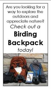 Birding backpack Messenger ad