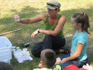 Emily teaching