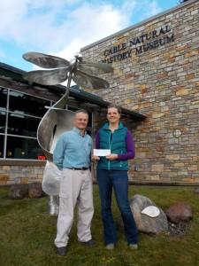 Elsa Hansen Receives the Besadny Grant