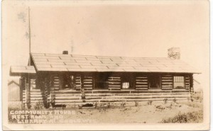 historical log community house