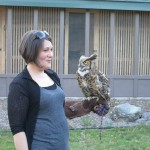 Jayme and Theo – Great Horned Owl